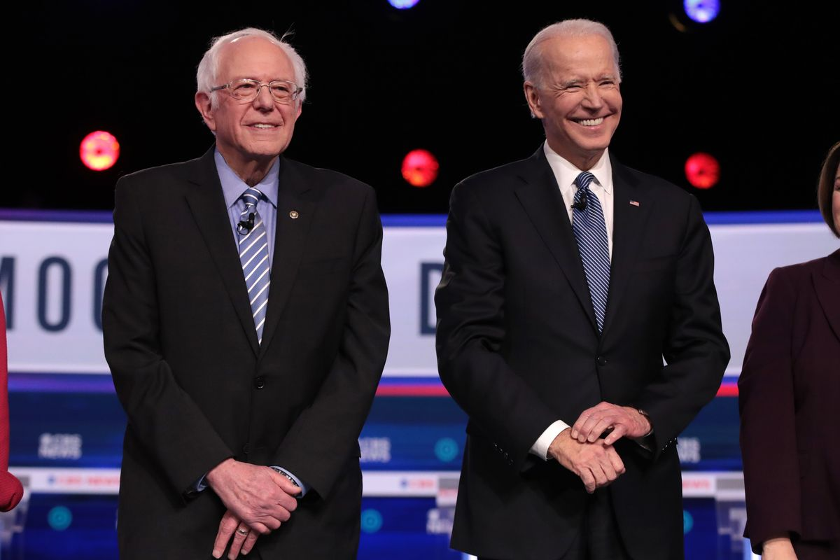 Super Tuesday odds Sanders Biden