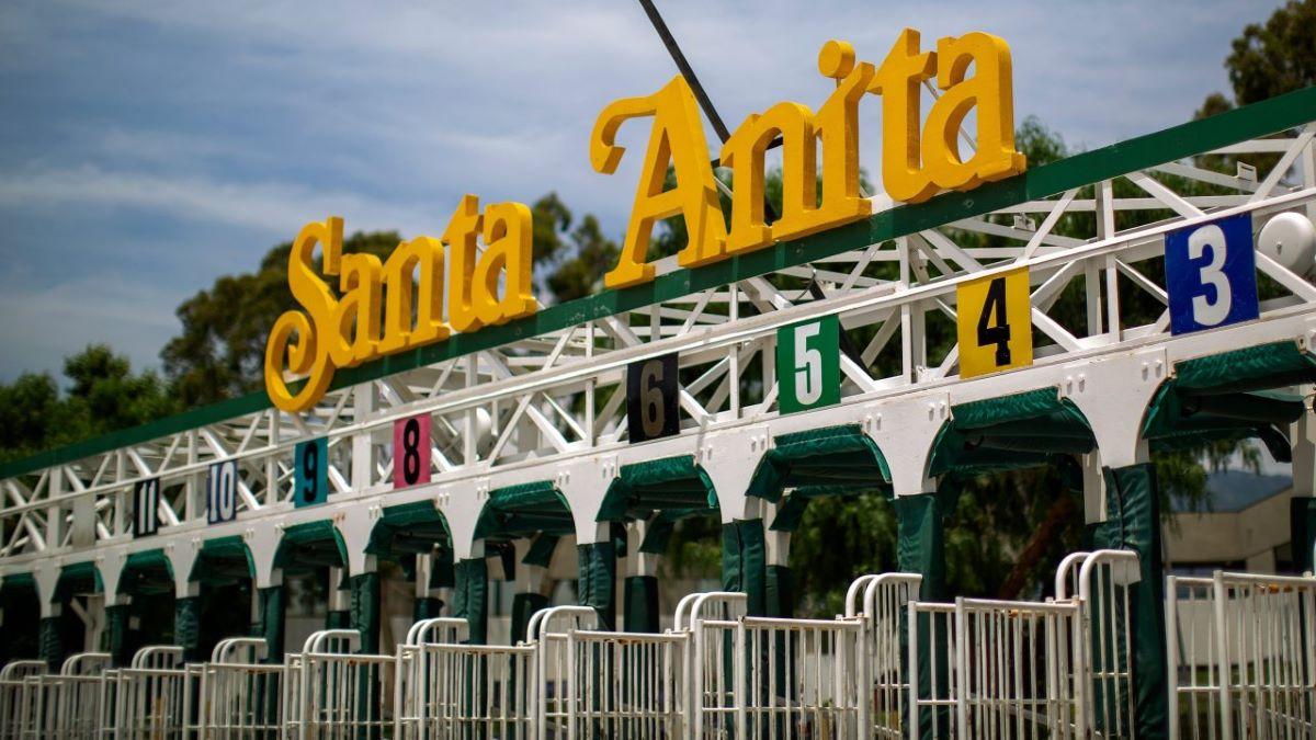 Santa Anita Empty Gate