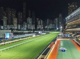 Hong Kong's Sha Tin Racecourse continues its Wednesday and Sunday cards amid the COVID-19 pandemic. Horse racing is immensely popular in Hong Kong, with 30% of the population avid followers. (Image: Alpha Lighting)
