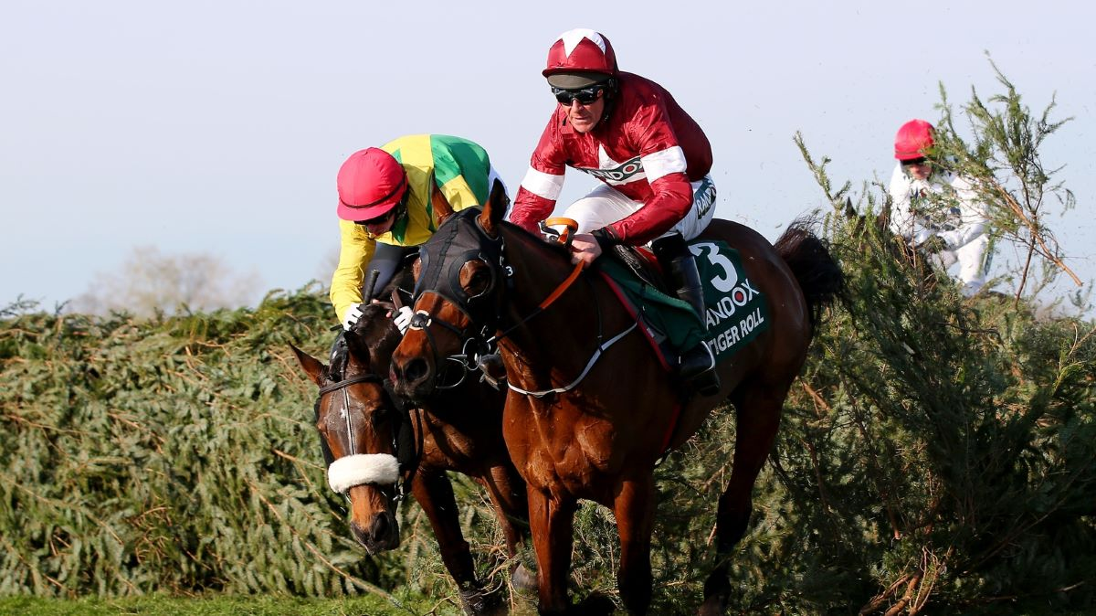 Tiger Roll at 2018 Grand National