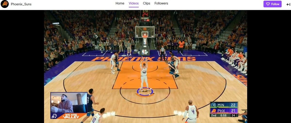 NBA 2K Fortnite Ty Jerome Suns Phoenix