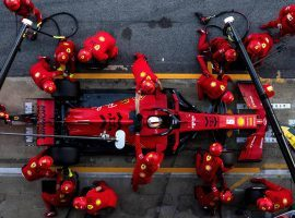 Ferrari's Formula One troubles mount as team is cut off from its factory. (Image: Rudy Carezzevoli: Getty)