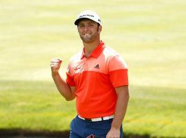 Jon Rahm is the second pick to win The Players Championship at 10/1, but could be a better choice than the 7/1 favorite, Rory McIlroy. (Image: Getty)