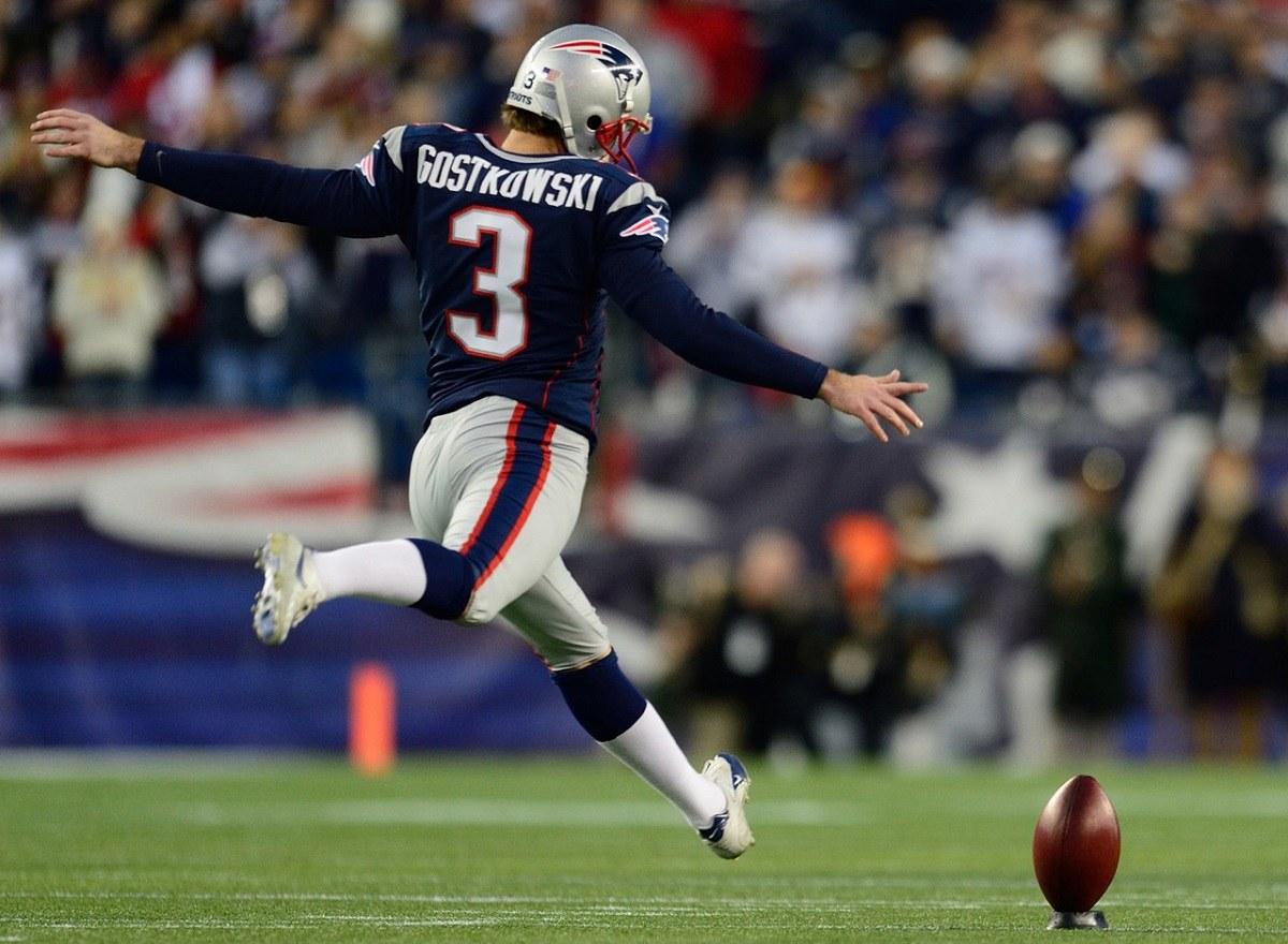New England Patriots Release Veteran Kicker Stephen Gostkowski