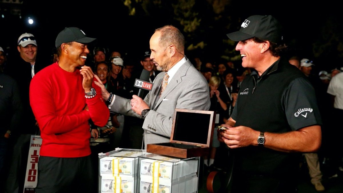 Tiger Woods, Phil Mickelson Tiger-Phil Match