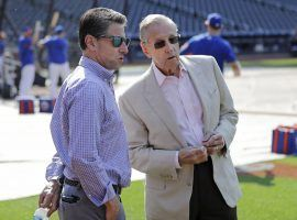 Jeff and Fred Wilpon have already burned potential buyers twice. (Image: Frank Franklin II/AP)