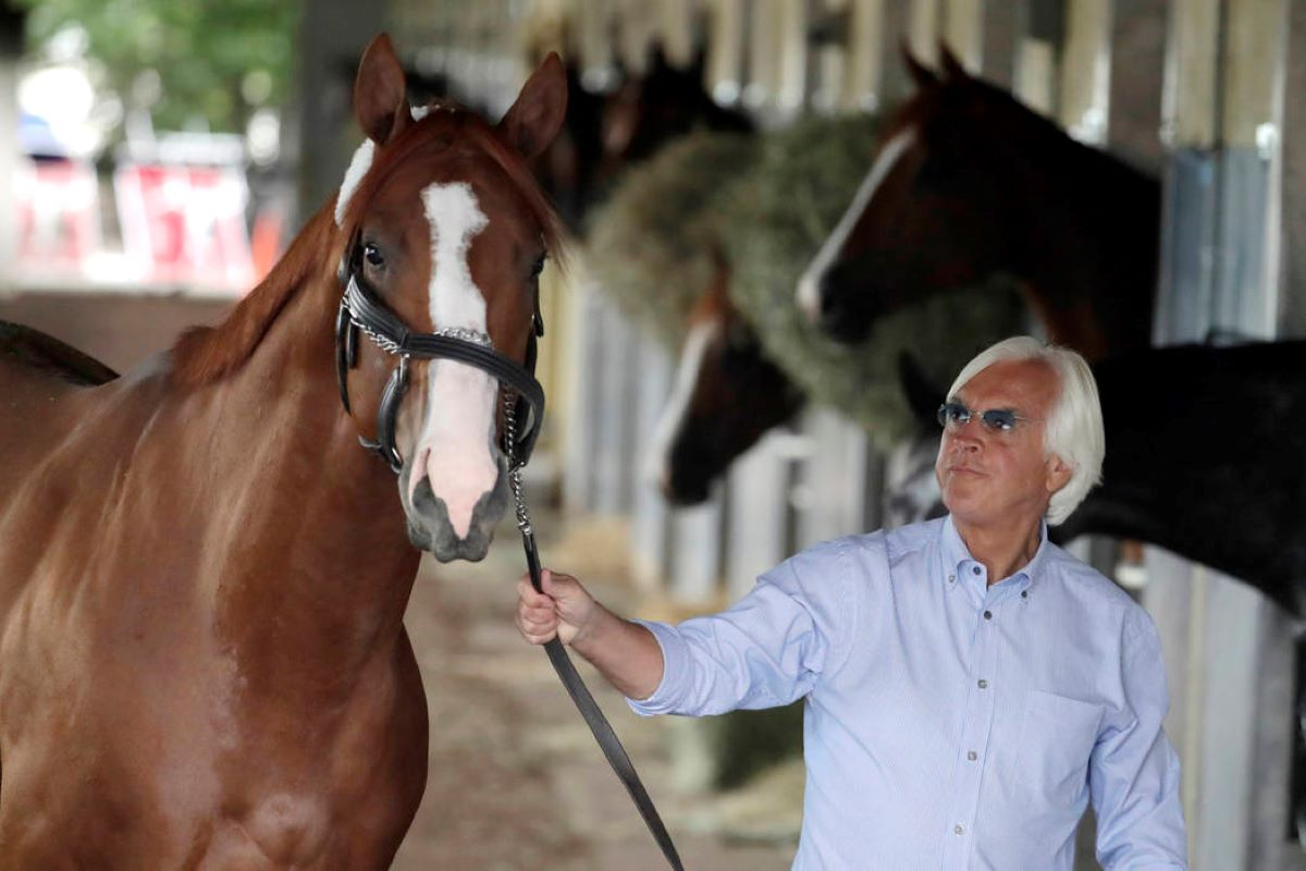 Baffert, Justify Barn
