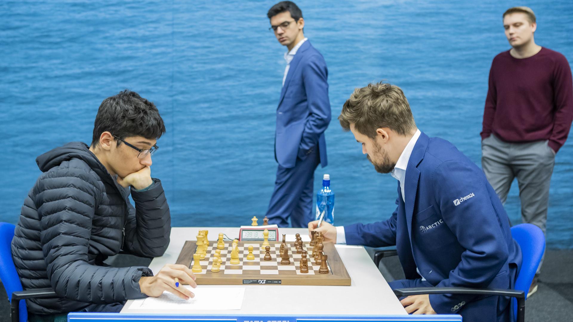 Magnus Carlsen Invitational Standings