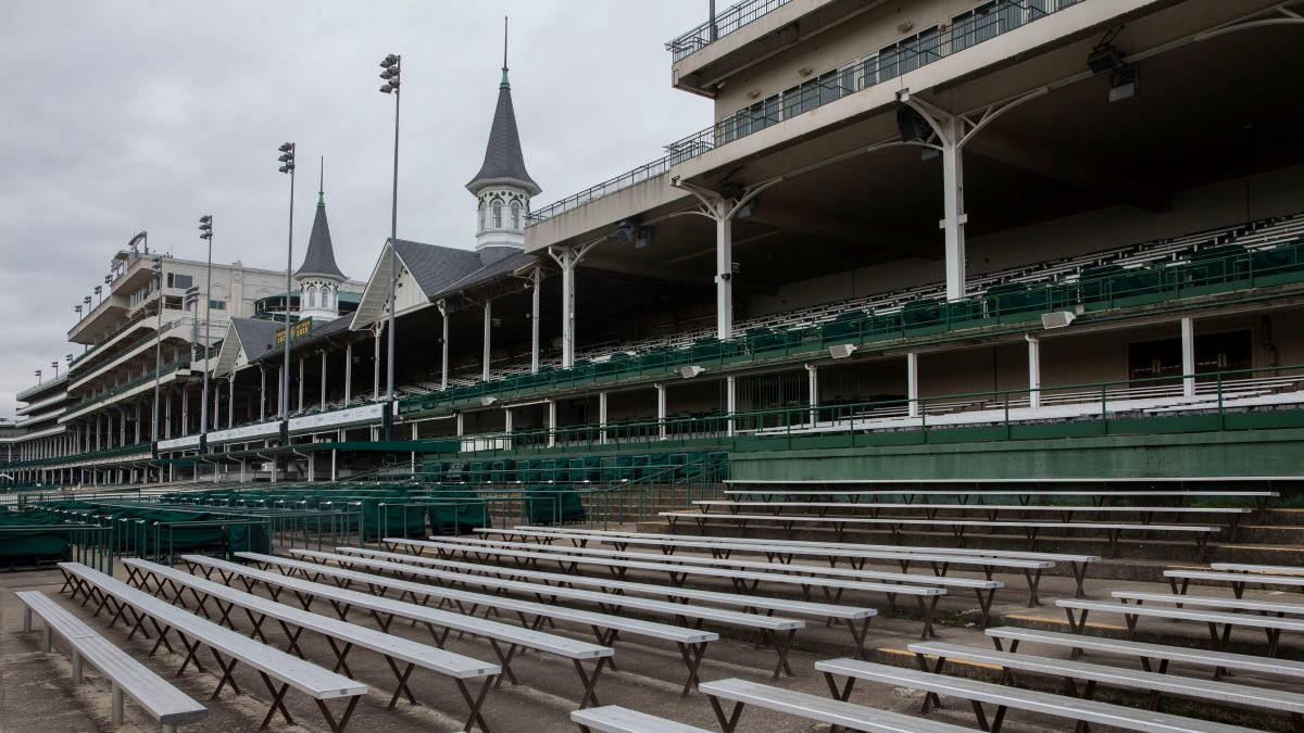 An Empty Churchill Downs