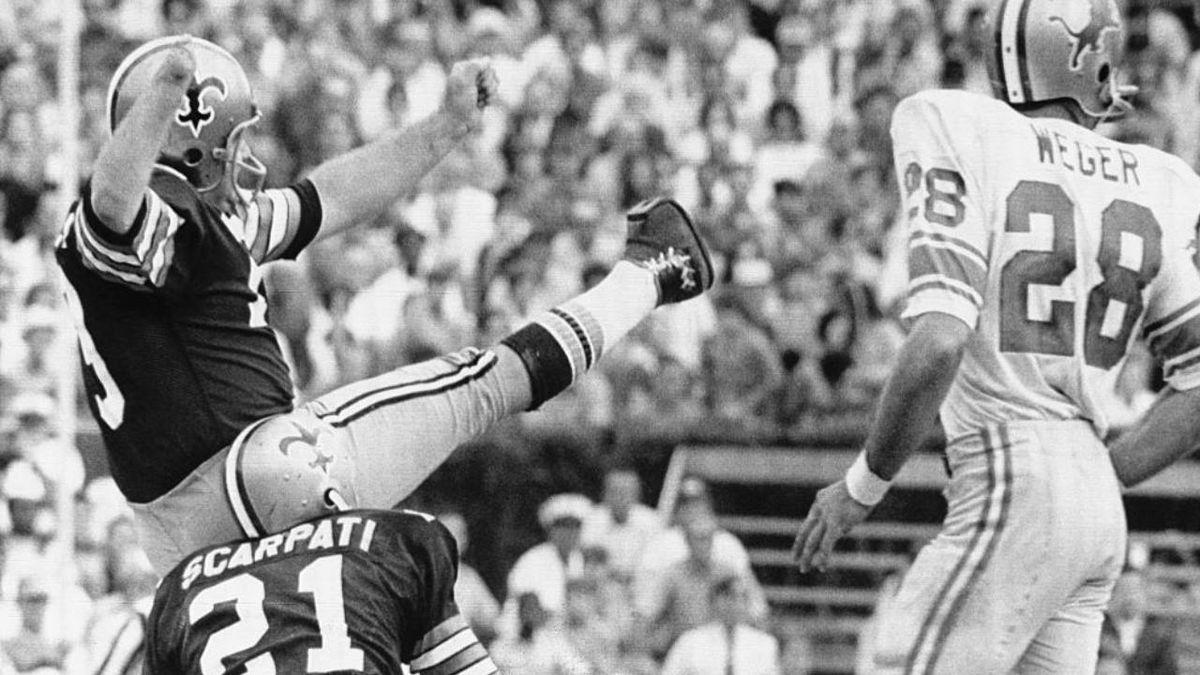 Tom Dempsey New Orleans Saints coronavirus COVID-19 kicker 63 yard