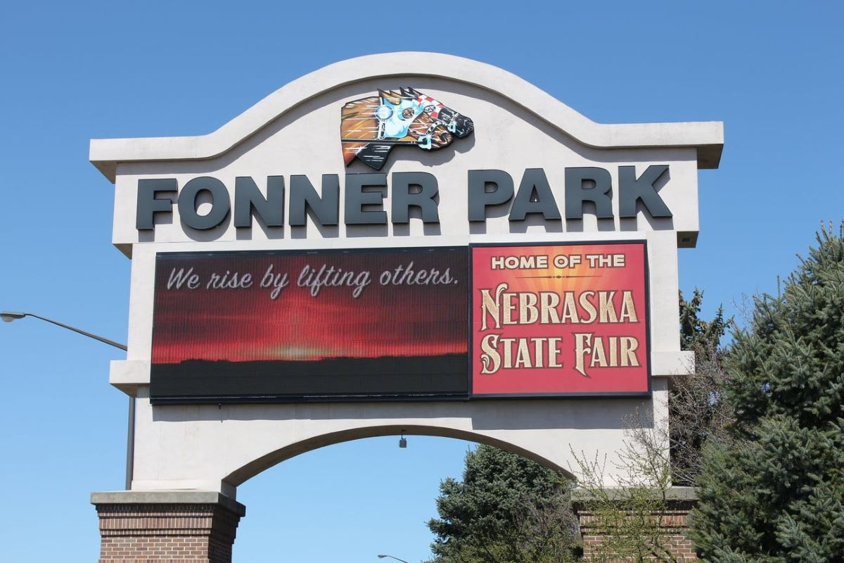Fonner Park Marquee