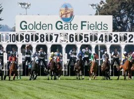 One of the last tracks on the West Coast to continue live racing, Golden Gate Fields closed Thursday on county health department orders. (Image: Golden Gate Fields)