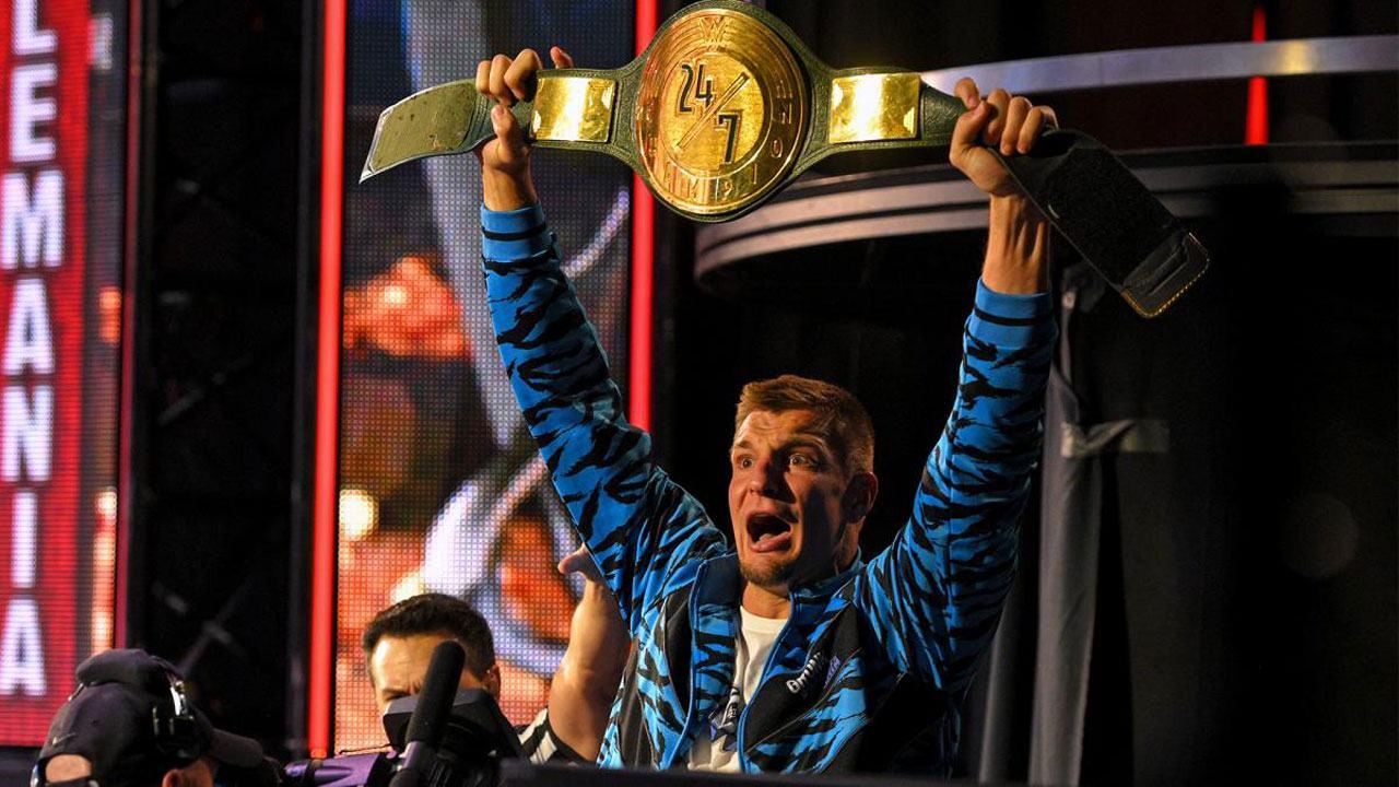 Rob Gronkowski 24/7 WWE Championship