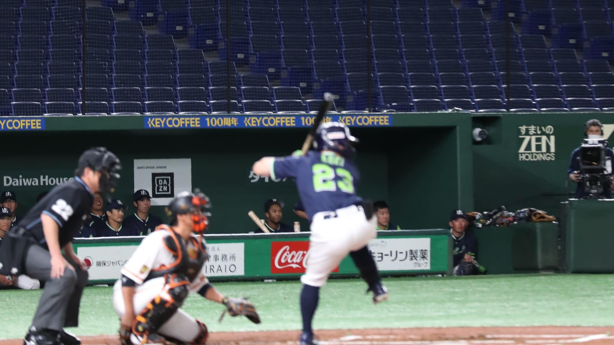 Japanese baseball NPB June