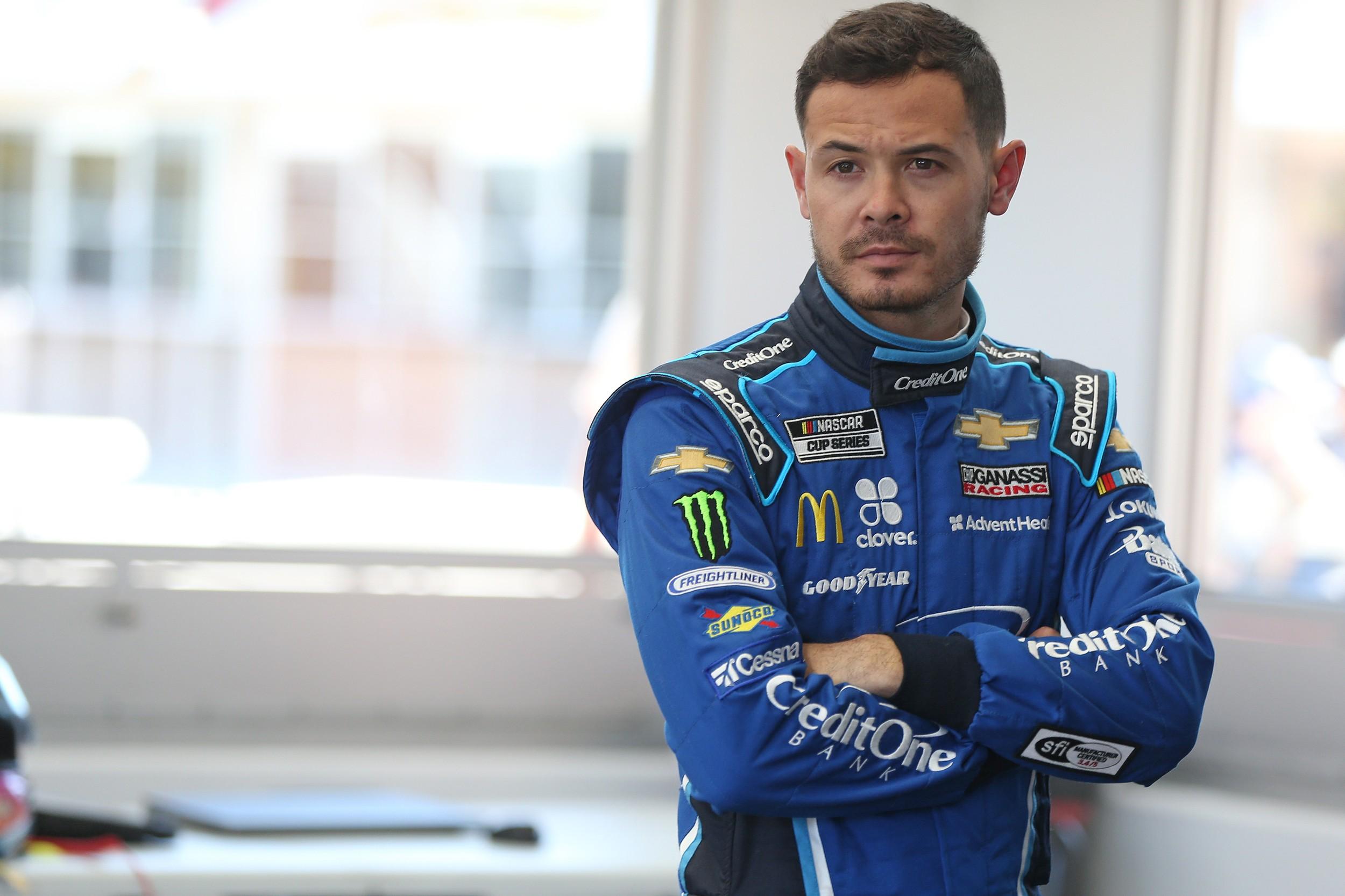 Kyle Larson NASCAR Fired Ganassi