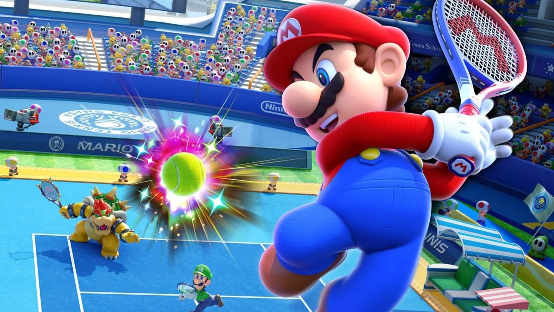 Mario Tennis Aces tournament