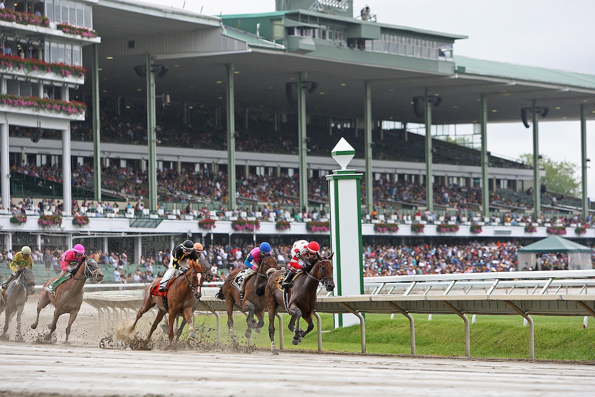 Monmouth Park Grandstand & Turn
