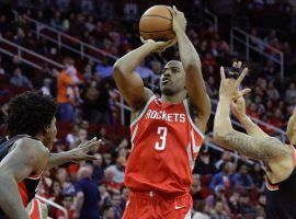 Chris Paul will be among the NBA and WNBA stars playing in the NBA HORSE Challenge starting on Sunday, April 12. (Image: Michael Wyke/AP)