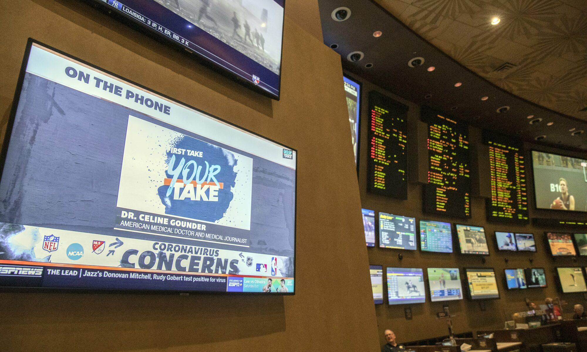 Nevada sports betting March