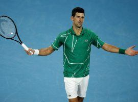 Novak Djokovic shared anti-vaccination views during a Facebook chat with other popular Serbian athletes. (Image: Edgar Su/Reuters)