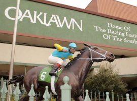 Such is the pent-up racing demand and standout crop of 3-year-olds, Oaklawn Park may split the Arkansas Derby into two separate races. (Image: Eclipse Sportswire/Getty)