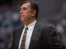 Rudy Tomjanovich on the sidelines while coaching the Houston Rockets. (Image: Getty)