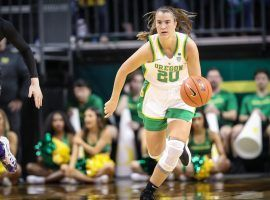 The New York Liberty will all but certainly take Sabrina Ionescu as the top pick in the WNBA Draft on Friday. (Image: Serena Morones/The Oregonian)