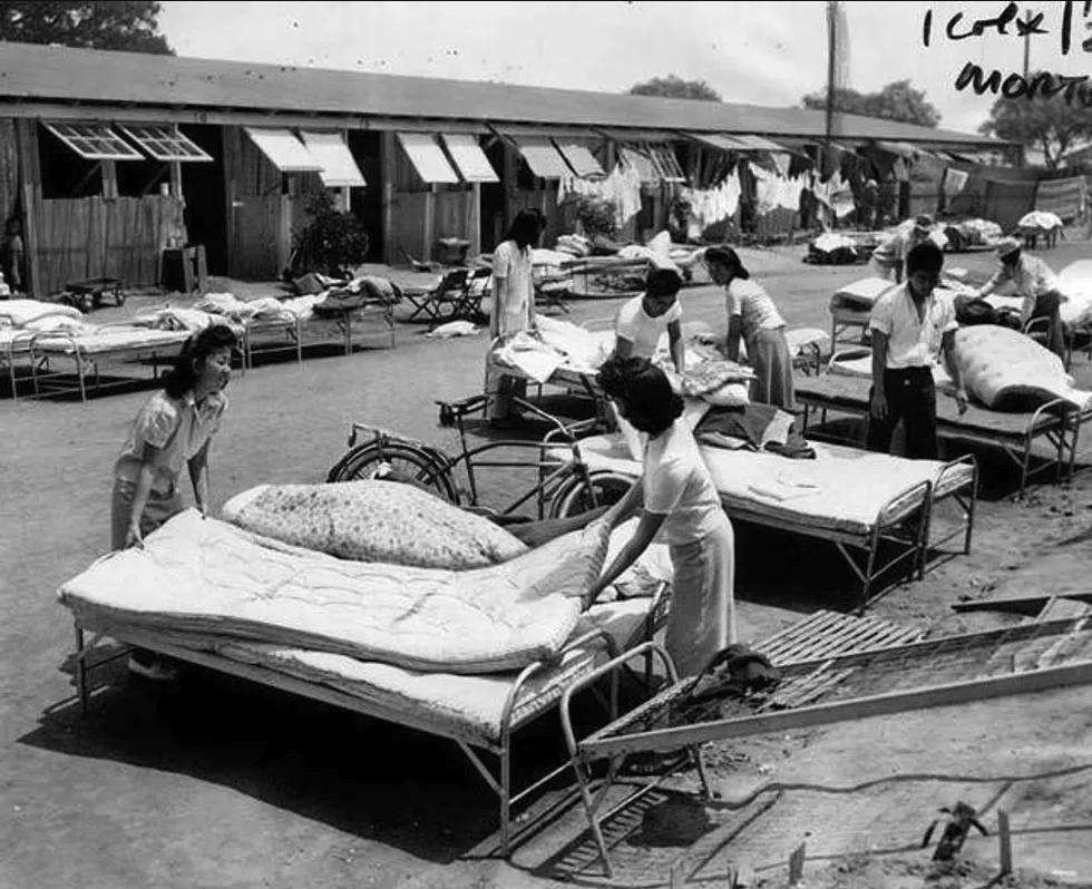Horse racing history: Santa Anita Internment camps