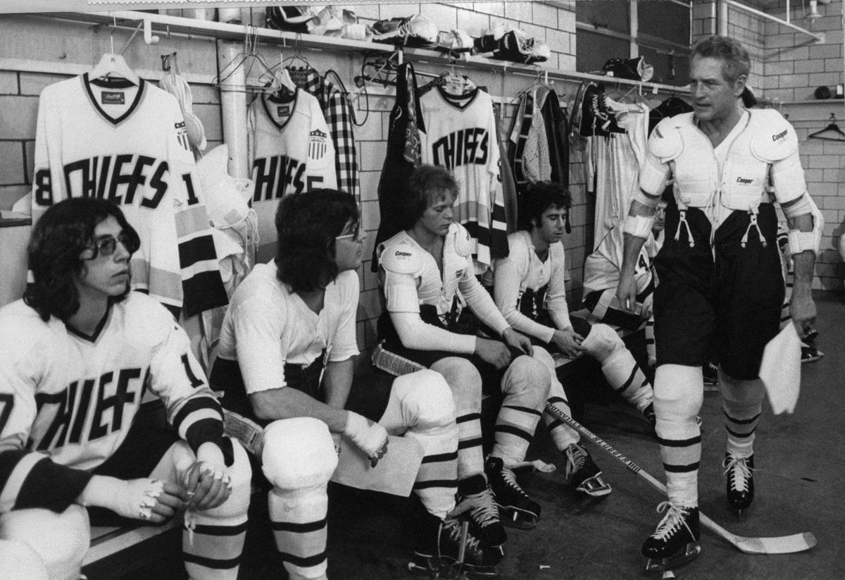 Hockey Movies Slap Shot Paul Newman Hanson Brothers