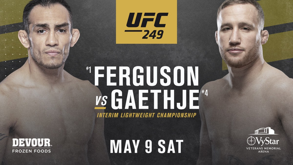 UFC 249 Jacksonville Florida