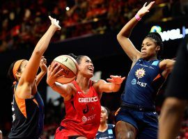 """The WNBA has indefinitely postponed its 2020 season, though its """"virtual draft"""" is still on for April 17. (Image: Brad Mills/USA Today Sports)"""