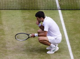 Novak Djokovic won't get the opportunity to defend his title at Wimbledon in 2020. (Image: Frank Molter/Getty)