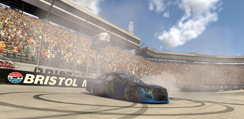 William Byron Bristol virtual race