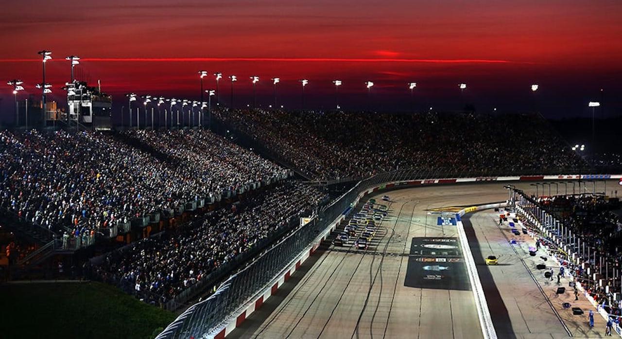 NASCAR resume schedule Darlington Raceway