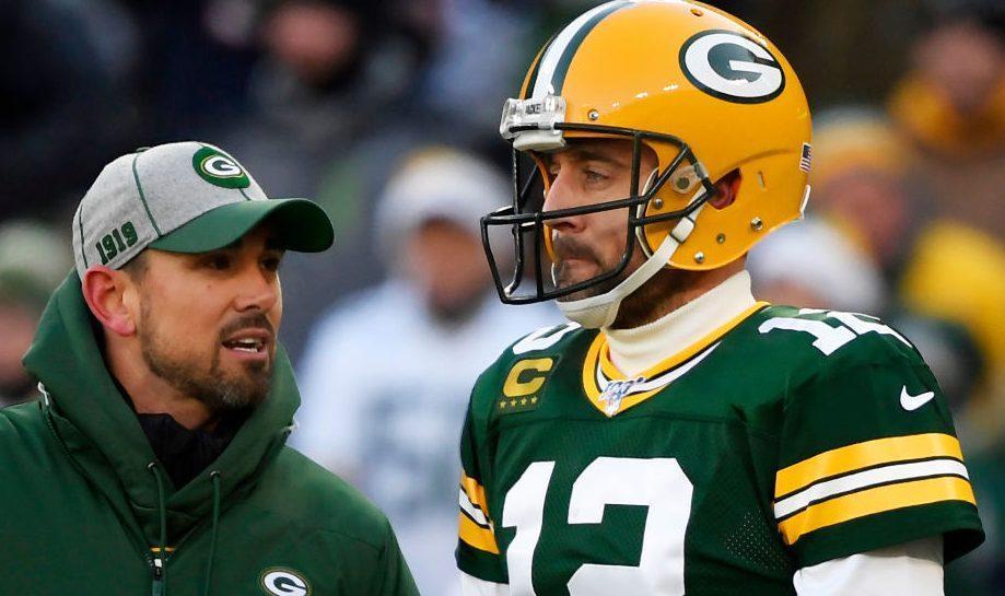 Green Bay Packers Matt LaFleur Aaron Rodgers