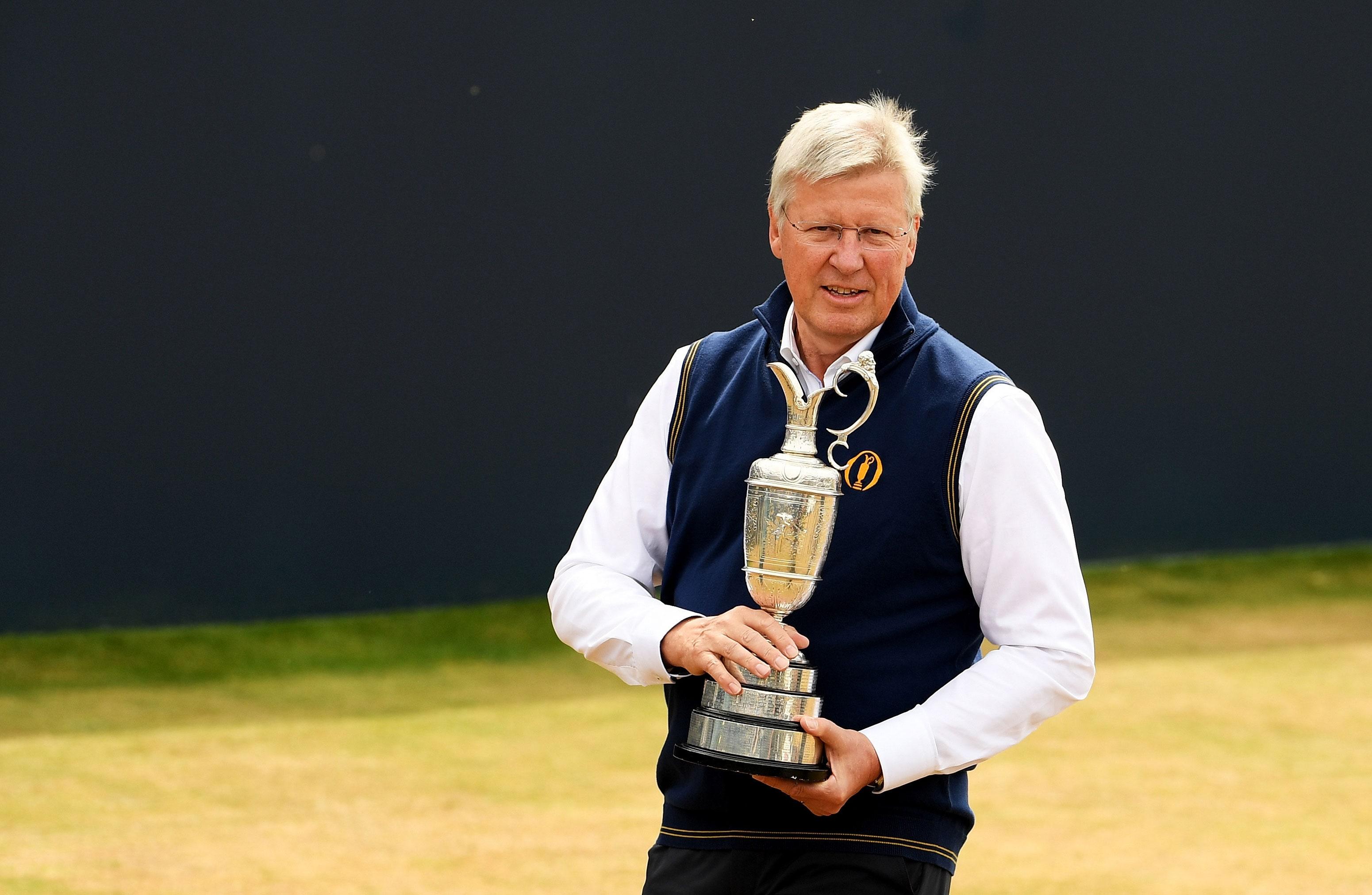 Martin Slumbers The Open Championship