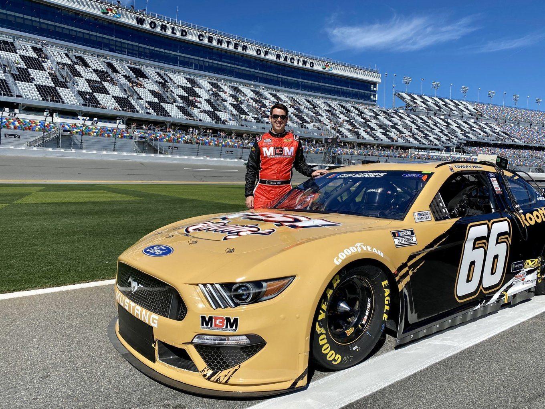 Timmy Hill NASCAR Texas Virtual Race