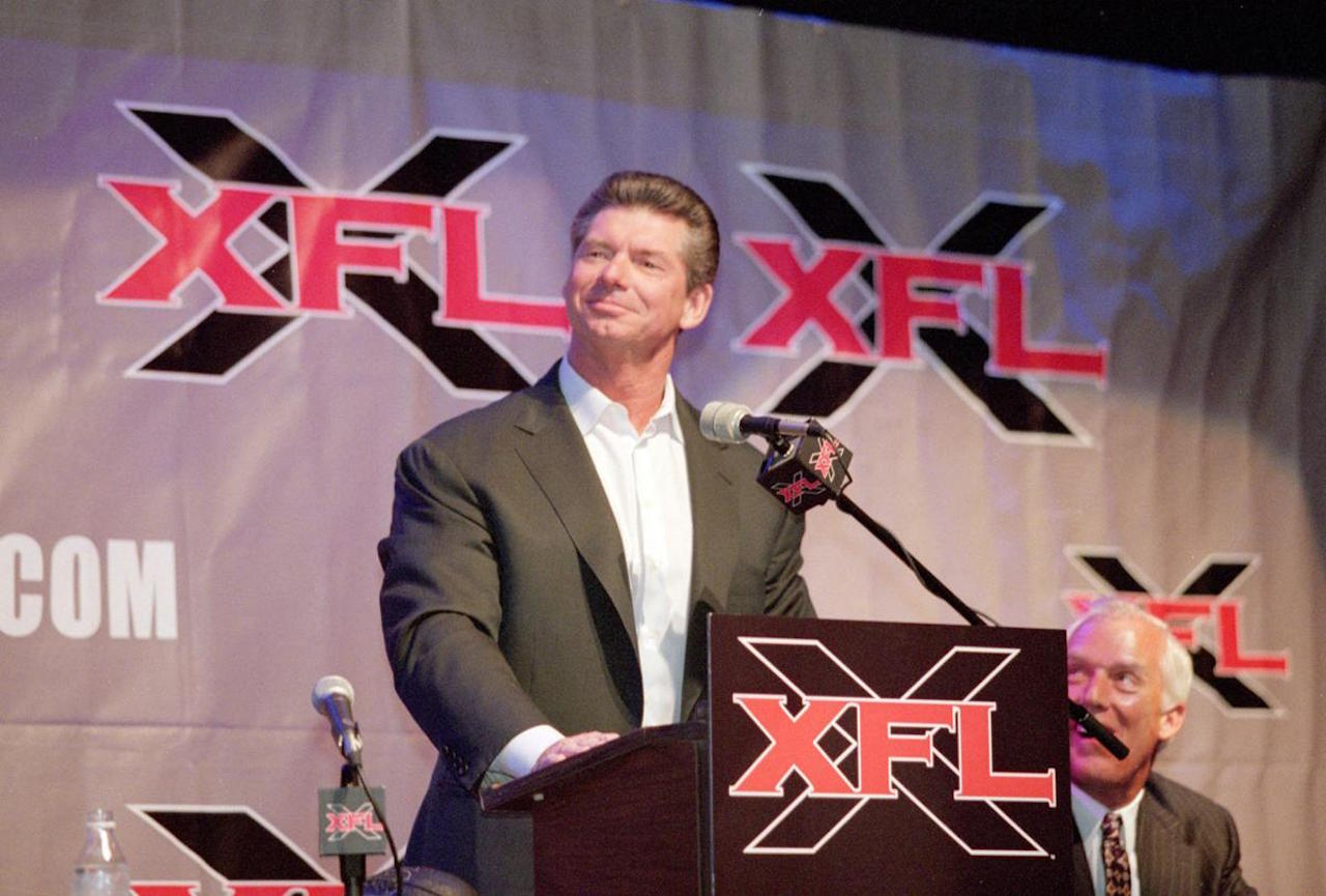 XFL CEO Vince McMahon suspended operations
