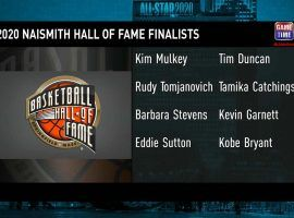 The Basketball Hall of Fame Class of 2020 will be postponed until 2021. (Image: NBA)
