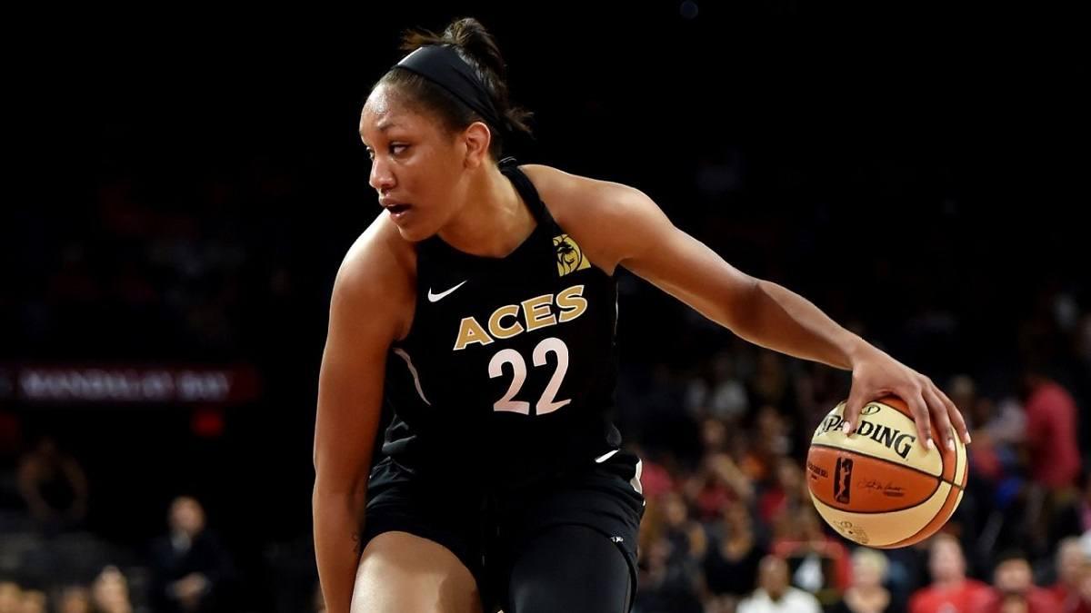 A'ja Wilson Las Vegas Aces WNBA Championships odds Washington Mystics
