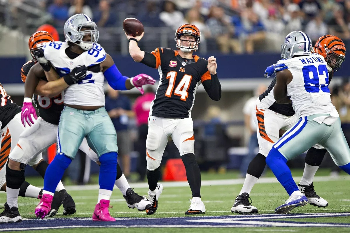 Andy Dalton Dallas Cowboys backup QB Dak Prescott