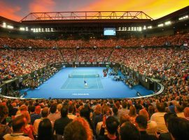If the Australian Open goes forward in 2021, it will likely do so without foreign fans in attendance. (Image: Sporting News)