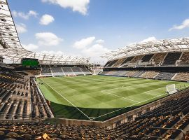 The Banc of California Stadium in downtown LA was scheduled to host the 2020 MLS All-Star Game against LIGA MX stars. (Image: LAFC)