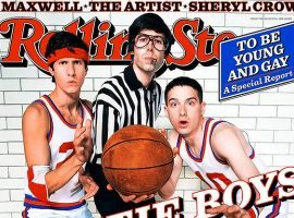 The Beastie Boys on the cover of Rolling Stone magazine in1998. (Image: Rolling Stone)