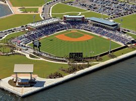 uring the baseball shutdown, Pensacola Blue Wahoos Stadium in Pensacola is available to rent on Airbnb. (Image: AP)