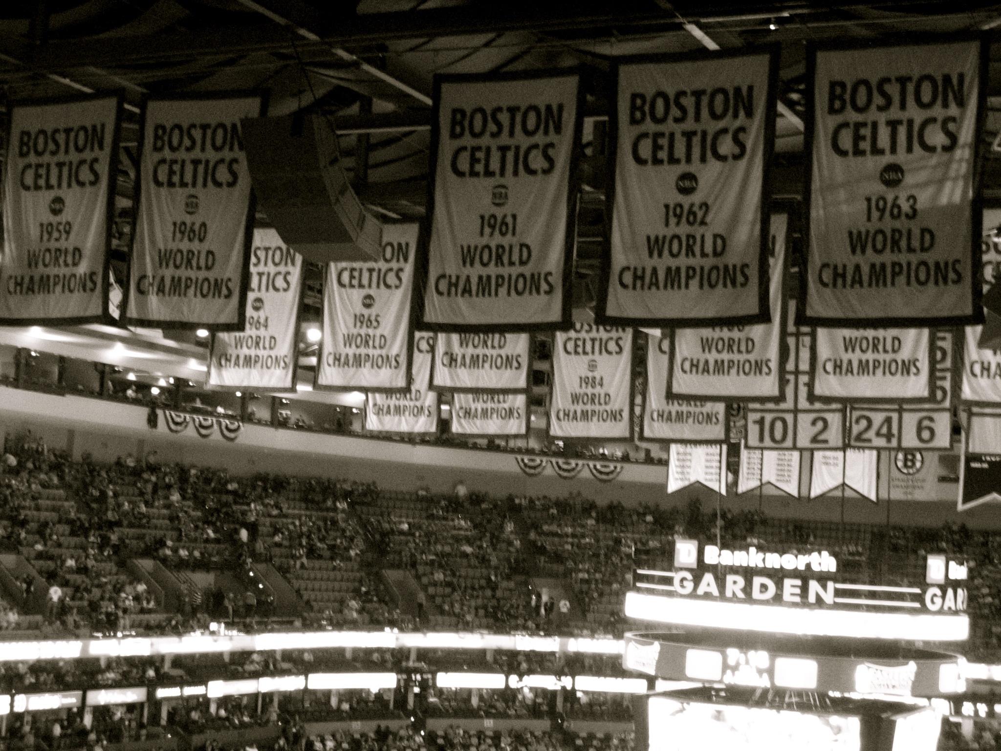 NBA Consecutive titles championships Boston Celtics Chicago Bulls LA Lakers