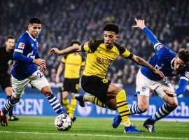 Borussia Dortmund and Schalke 04 will meet for another round of their traditional rivalry as the Bundesliga returns to action on Saturday. (Image: Alexander Scheuber/Bundesliga/Getty)