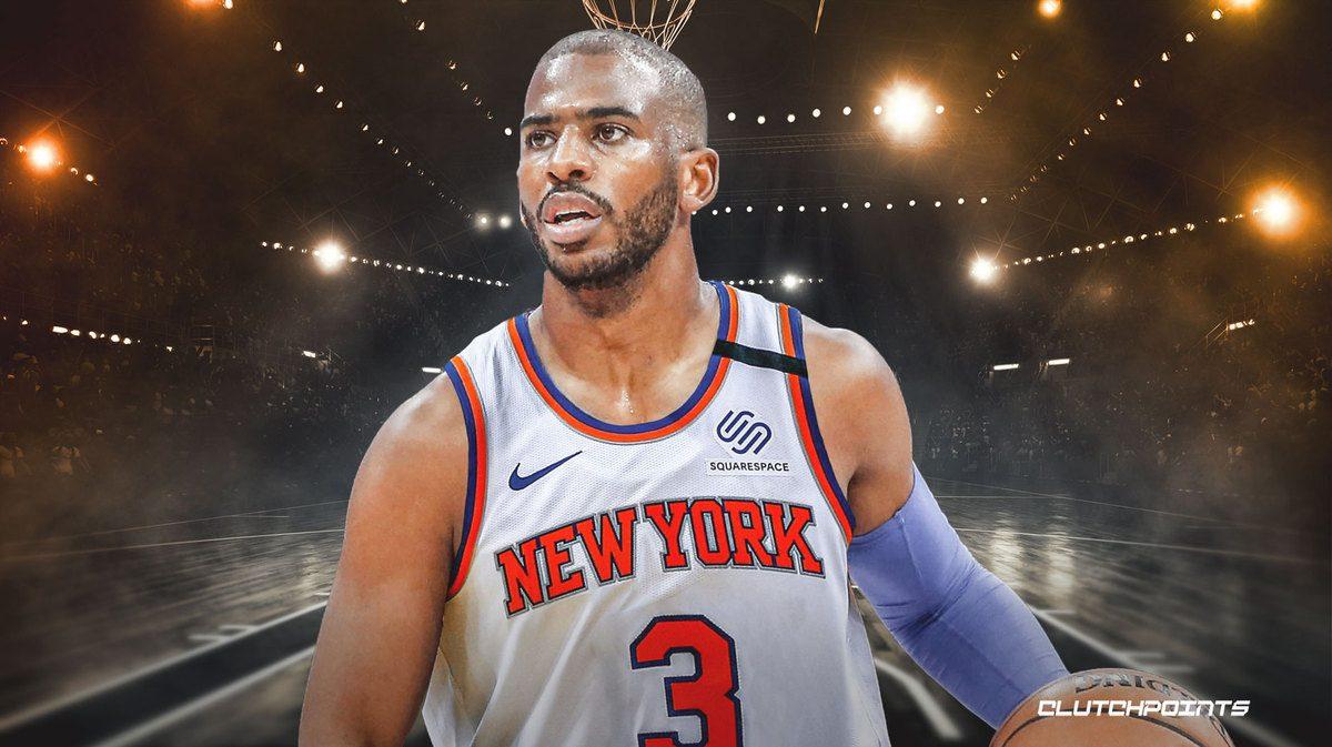 Chris Paul CP3 Trade Rumor New York Knicks