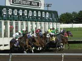 Until fans are allowed back inside, Minnesota horse racing fans can't watch Canterbury Park races. They can't bet on them via remote apps, either. (Image: Explore Minnesota)