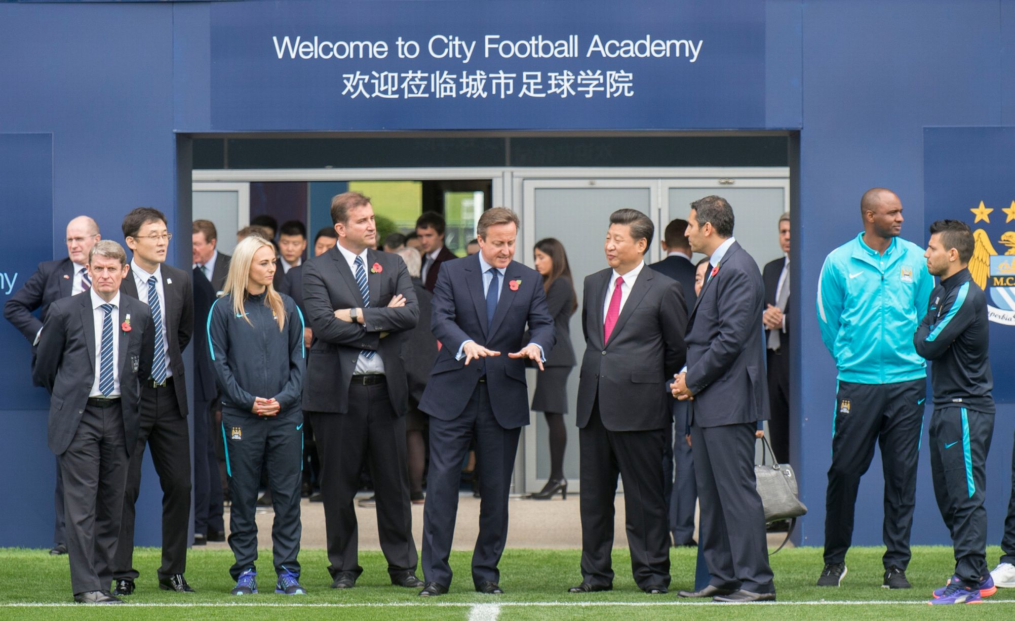 Xi Jinping tours Man City prior to CMC's investment in CFG